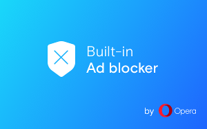 Opera Ad blocker
