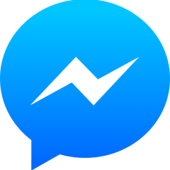 Pictogram voor Facebook Messenger